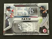 2016 Bowman Fernando Tatis Sr. And Jr. Family Resemblance Ft-t Rookie Rc Padres
