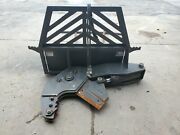 Used Non-rotating Tree-shear Hydraulic Skid Steer Attachment