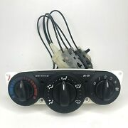 2000-2007 Ford Focus A/c Heater Climate Control Unit With Cables And Actuator Oem