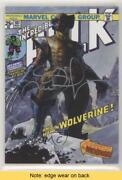 2018 Marvel Masterpieces What If Simone Bianchi /10 Wolverine Auto Read H8p