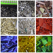 Assorted Lego Bricks And Parts And Pieces Sold In Bulk By The Pound - Choose Color