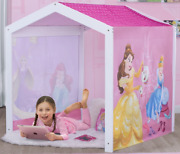 Disney Princess Indoor Playhouse Fabric Tent For Girls Play Area Kids Delta New