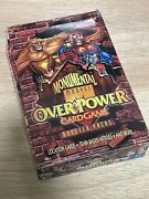 Overpower Marvel Monumental Booster Box 36 Sealed Packs. Ccg Game. Free Shipping