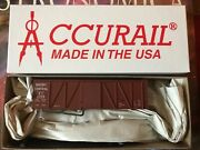 Accurail 11691 Quebec Central 36' Fowler Wood Boxcar - New