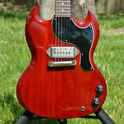 2019 Gibson Sg Junior Jr. Factory One-off Mod - Featherweight W/paperwork And Coa