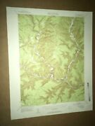 Driftwood Pa Cameron County Usgs Topographical Geological Survey Quadrangle Map