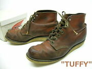Used/used Red Wing 1950 Made/tuffy Plain Toe Boots/hunting Boots/irish Setter