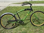 John Deere Licensed Bike Beach Cruiser By Nirve Rare Collectors Edition Bicycle