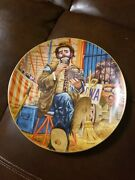Ron Lee Emmett Kelly The Greatest Clowns Of The Circus Limited 9and039and039 Plate 1839