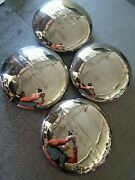 F2 + 1948 1949 1950 1951 1952 Ford Truck Hubcap Set Stainless Oem Usa Pickup