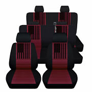 Seat Covers Fit Chevy Suburban 2015 To 2021 With American Flag