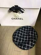 Authentic Beret Tweed Hat Cap Casket Free Shipping No.7416