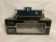 ✅k-line By Lionel Chesapeake Ohio Smoking Caboose For Diesel Steam Engine Scale