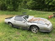 Complete 1986 Firebird Trans Am Project Or Parts Car Rough Shape T/a Tuned Port