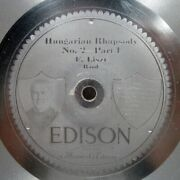 Edison 78 Rpm Record Hungarian Rhapsody No 2 Part 1 And 2 In Original Sleeve 1913