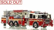 Fdny Seagrave Tower Ladder 157 Brooklyn 1/50 Fire Replicas Fr33-157 New Sold Out