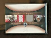 2005 Upper Deck Ultimate Collection Duel Jersey Bo Jackson/c Williams 11/25