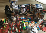 Huge Lot Of Everything Star Wars Pez Funko Lego Collectibles Vintage