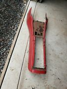 1962 Ford Thunderbird Center Console Shell With Trim Oem Red Used