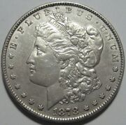 = 1878 Au+ Morgan Dollar 8tf Nice Details 8 Tail Feathers Free Shipping