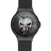 The Punisher Marvel Comic Book Character Custom Printed Quality Plastic Watch