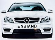 England Personal Private Cherished Number Plate Fees Paid En21and Football