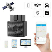 1x Obd Ii Gps Tracker Real Time Obd2 Vehicle Car Truck Tracking Device Locator