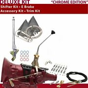 Pg Shifter Kit 10andampquot E Brake Cable Clamp Clevis Trim Kit For Cc84b