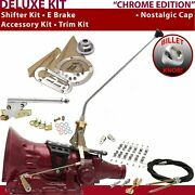 Fmx Shifter Kit 16andampquot E Brake Cable Clamp Clevis Trim Kit For E671c