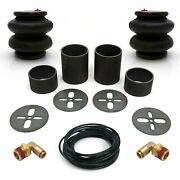 Universal Rear Air Bag Bracket Kit With 2600lb Air Bags, Line Andamp Fittings