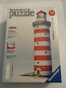3d Lighthouse Puzzle Sealed Ravensburger Easyclick Technology No Glue Required