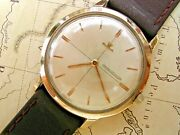 9k Gold Jaeger Lecoultre Gentlemanand039s 1951 With Serviced Caliber K816/c.