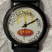 Arch Deluxe Mcdonalds Employee Plastic Collectible Watch Vintage 1996