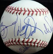 Psa/dna Osmond Family Autographed-signed Al Baseball Donny And Marie Plus 5 Z02690