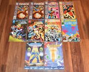 Lot 13 Cosmic Powers Marvel Comic Book 1994 1-6 Unlimited Silver Surfer Thanos