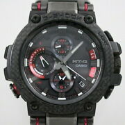 Previously Owned Casio G-shock Mt-g Bluetooth Solar Radio Waves Mens No.867