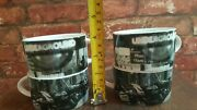 British Airways Royal Doulton China 4 Cups Club Europe Rare Collectables