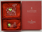 Waterford Crystal Nativity Collection Sheep Mib