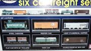 ✅mth Premier New York Central 6 Car Freight Set 20-90017 O Scale Nyc Penn