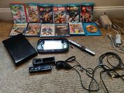 Nintendo Wii U 32gb Console Wup-10102 Gamepad Wup-010 With 12 Games