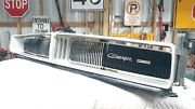 Front Grille 1969 Dodge Charger R/t Se Dukes Of Hazzard General Lee Grill B Body