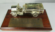 Vtg◉ 1961 Sales Award◉ First Chevrolet Truck 1918◉ Paperweight◉ 50th Anniversary