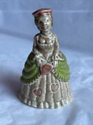 """Vintage Wade Whimsy Large 3"""" Nursery Rhyme Figurines 1970's Queen Of Hearts"""