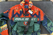 Polo Sport Sportsman 2-in-1 Sweater Aztec Hard To Find Limited Edition 1000 Only