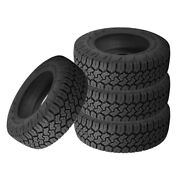 4 X New Toyo Open Country C/t Lt275/65r18/e 123q Tires