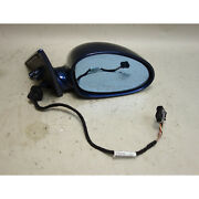2000-2006 Bmw E46 M3 2door Right ///m Outside Side View Mirror Mystic Blue Oem