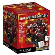 Lego 21106 - Minecraft - The Nether - Nisb - Retired - Free Shipping Us