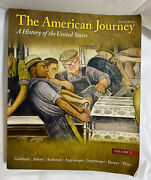 American Journey History Of United States Volume 2 6th Edition Pearson Textbook