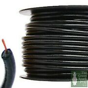 30 Meter Roll 7mm Ht Ignition Lead Cable - Gloss Black Wire Core Cotton Braided