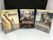 Spartacus Blood/sand Opened, Vg++, Gods Of The Arena New, Vengeance New